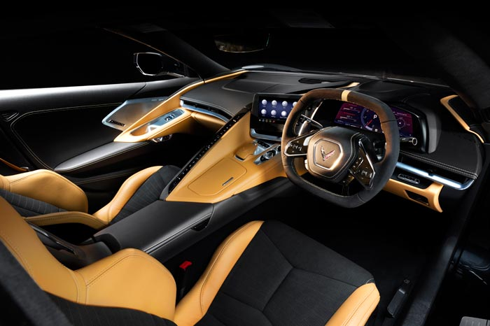 C8 Corvette in Right Hand Drive Configuration