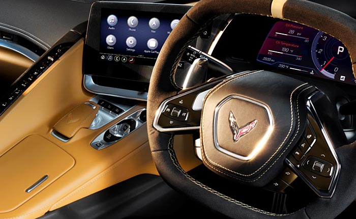 [PIC] First Look at the 2020 Corvette Stingray's Right Hand Drive Interior