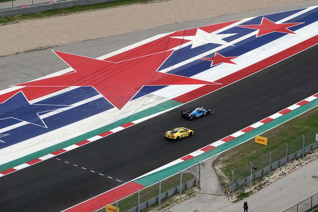 Behind the Scenes at COTA with Doug Fehan and the Corvette C8.R