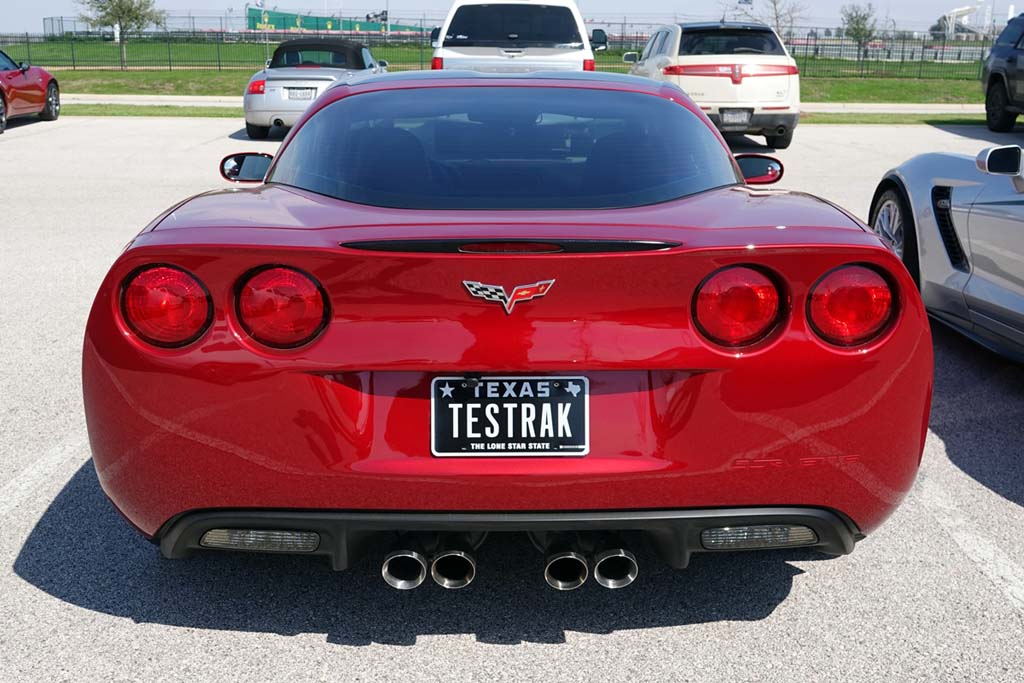 The Corvette Vanity Plates of the 2020 Six Hour Lone Star Le Mans at COTA