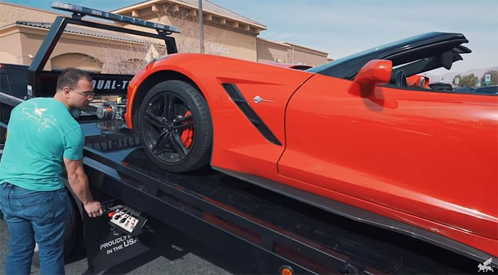 [VIDEO] Exotic Rental Company Tracks Down and Recovers Stolen Corvette