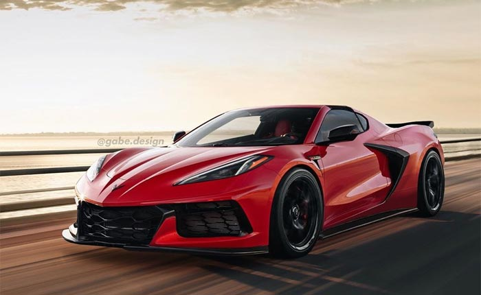 [PIC] C8 Corvette Z06 Rendered