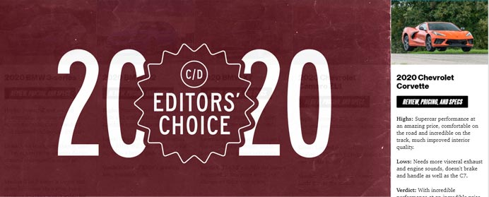Car and Driver 2020 Editor's Choice