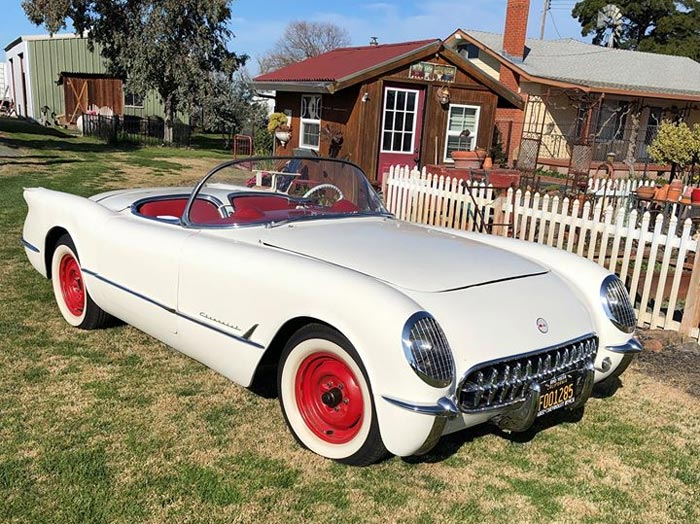 Matched Set: 2020 Corvette Buyer Orders No. 285 to Match the VIN of his 1953 Corvette