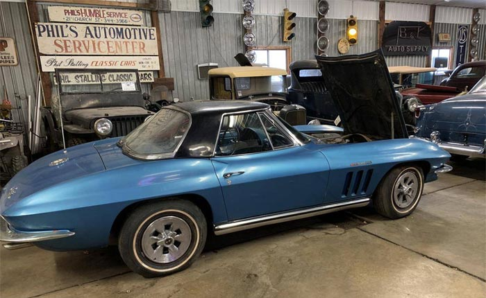 Barn Find 1965 Corvette Fuelie Buried Under a Mountain of Trash is Rescued