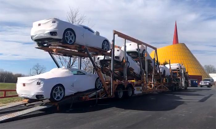 [VIDEO] The First R8C Museum Delivery 2020 Corvettes Arrive at the National Corvette Museum