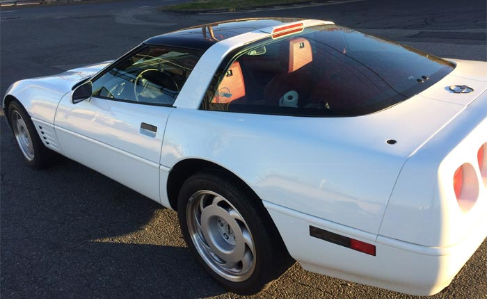 Corvettes for Sale: 1991 Corvette ZR-1 with 16K Miles on Bring A Trailer