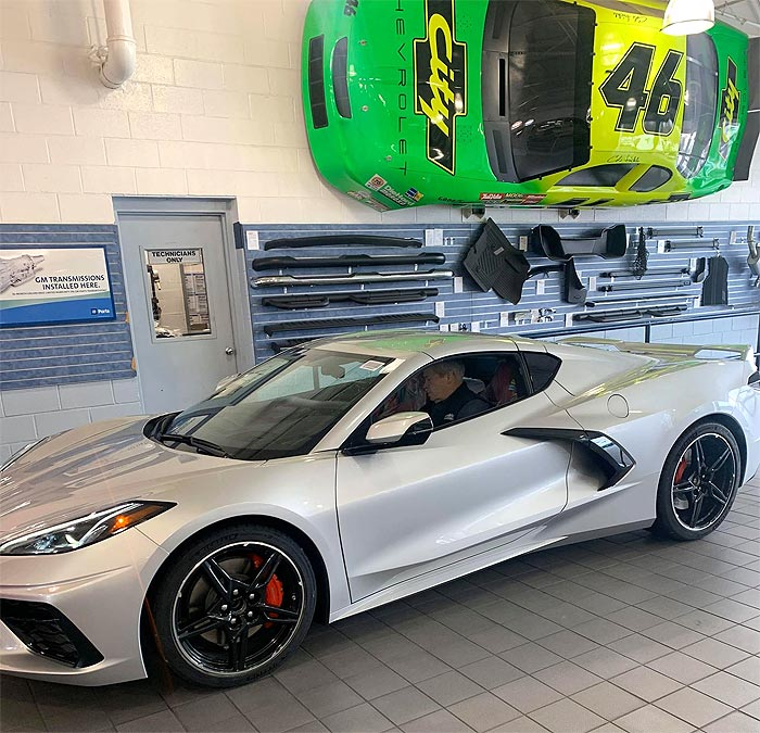 [VIDEO] Rick Hendrick's 2020 Corvette VIN #001 Arrives at City Chevrolet