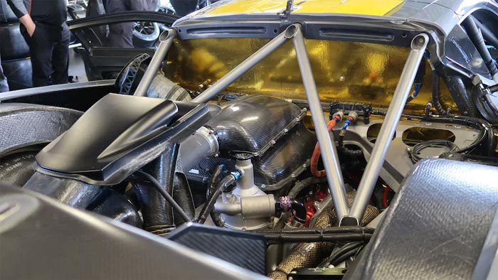 Is the DOHC 5.5L Engine in the C8.R the end of the Push Rod V8?