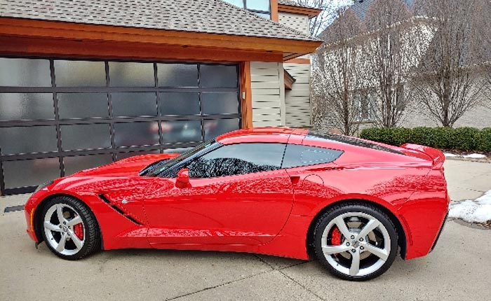 Corvettes for Sale: Doug Fehan's Personal 2018 Corvette Stingray