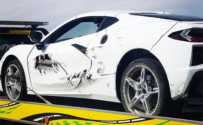[ACCIDENT] 2020 Corvette on a Flatbed Already? C'mon Man...