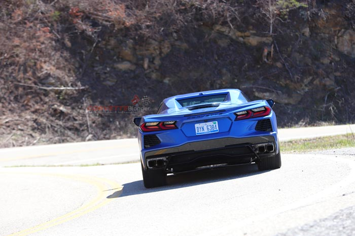[SPIED] 2020 Corvette Stingray Convertible on the Tail of the Dragon