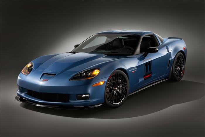 Ten Years Ago: GM Reveals the 2011 Corvette Z06 Carbon Edition