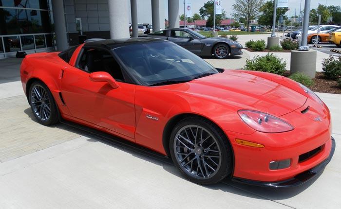 2011 Corvette Z06 Carbon Edt in Inferno Orange