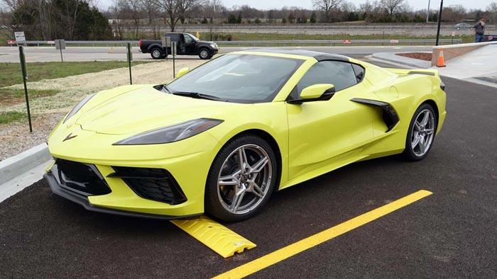 [PICS] 2020 Corvette Stingray Coupe in Accelerate Yellow