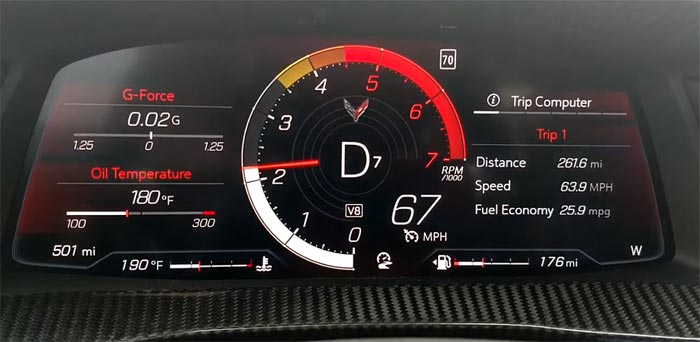 [VIDEO] 2020 Corvette Break-in Red Line Change