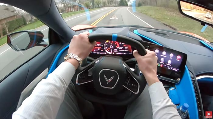[VIDEO] First Drive in the 2020 Corvette Stingray with Drive 615