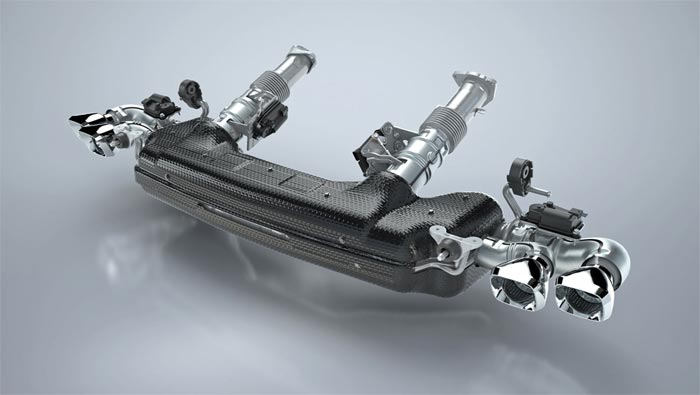 Tenneco C8 Exhaust System
