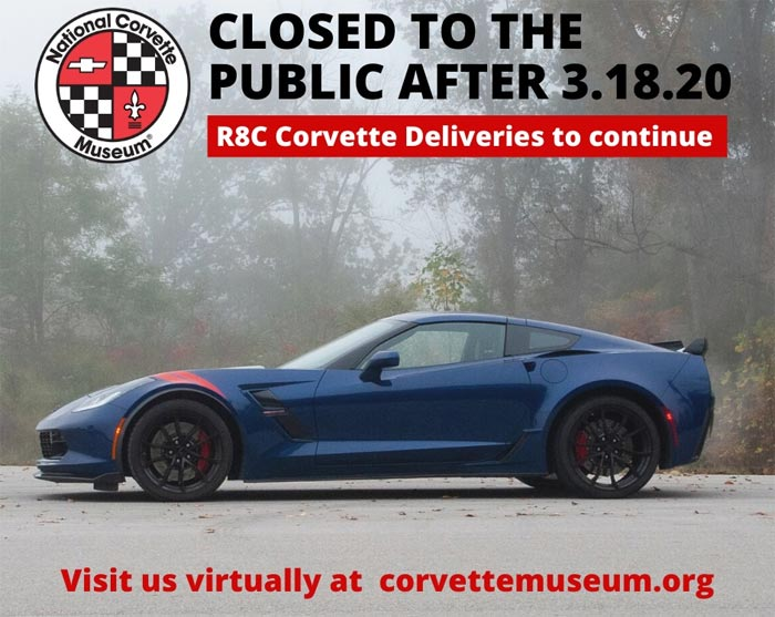 The National Corvette Museum to Close but R8C Deliveries Will Continue