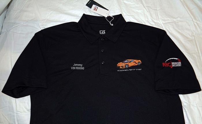 [PICS] Dress to Impress with the Corvette Museum's R8C Delivery Apparel