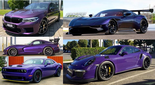Colors We Would Like to See on the C8 Corvette: Purple!