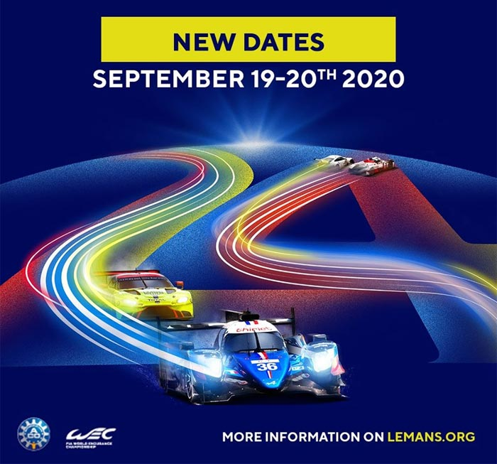 The 24 Hours of Le Mans Is Postponed to September 19-20th