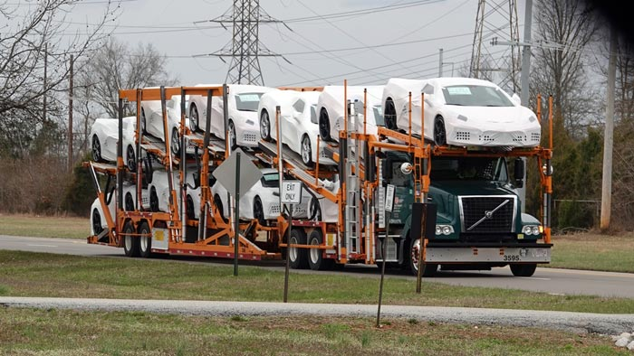 The Corvette Assembly Plant Has 10 Truckloads of 2020 Corvettes Ready to Ship!