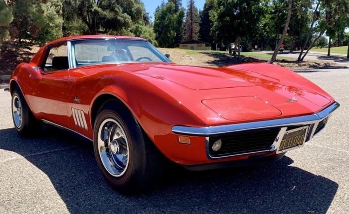 Corvettes for Sale: 1969 Corvette on Bring-A-Trailer