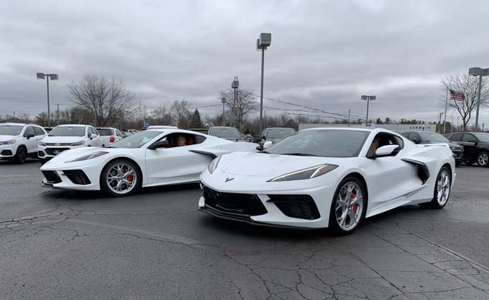 [PICS] Chevy Salesperson Goes to New Heights to Deliver Nearly Identical 2020 Corvettes to Two Friends