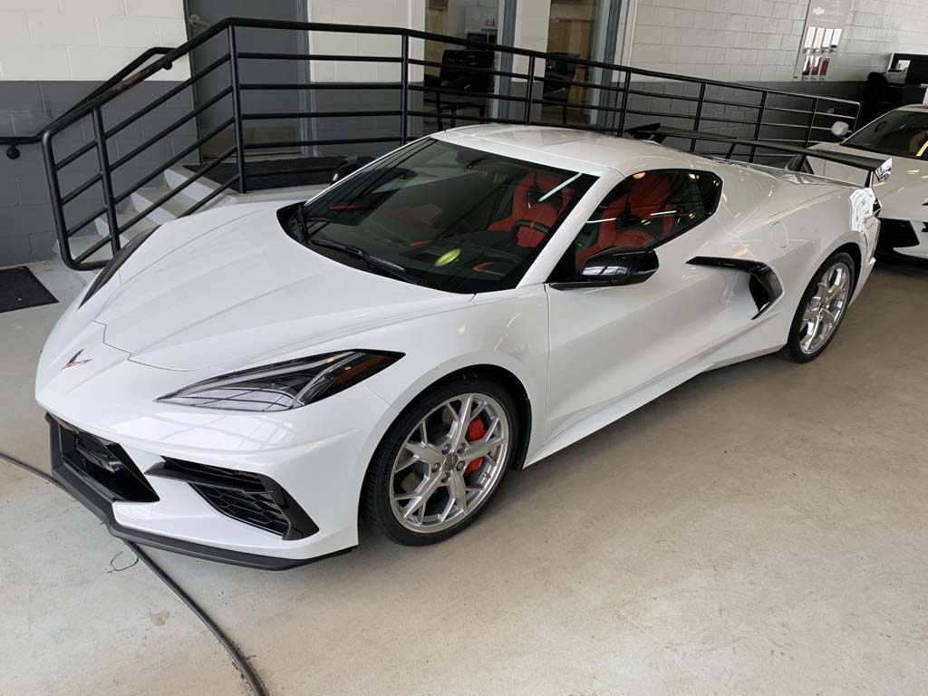 Chevy Salesperson Goes to New Heights to Deliver Two C8 Corvettes