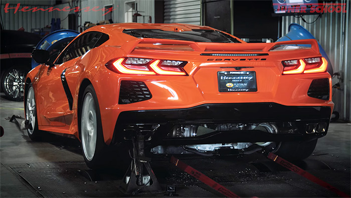 [VIDEO] Hennessey's Twin-Turbo 2020 Corvette Stingray Sees Big Gains on the Dyno
