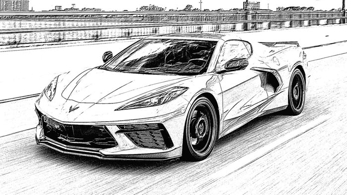 Fighting Boredom During Lockdown? How About Some Corvette Coloring Pages
