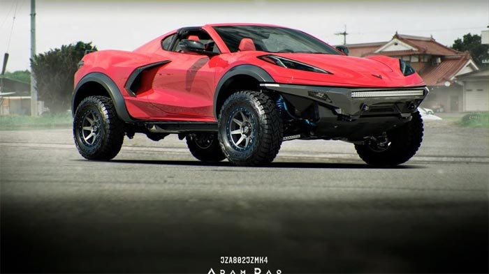 [PIC] Here's a Corvette SUV Rendering We Can Get Behind!