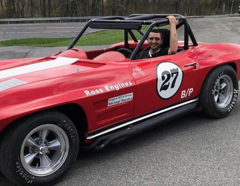[VIDEO] Genius Garage Sells Winning 1969 Corvette Greenwood Racer to 25-Year-Old Mechanic