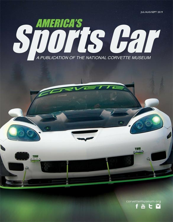 Bid Now to see Your Corvette on the Cover of America's Sports Car Magazine!