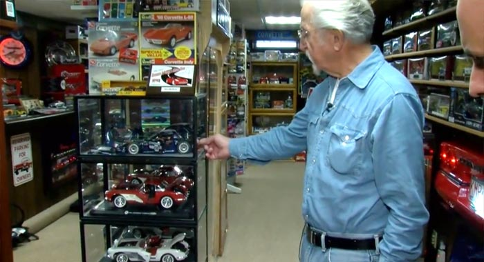 Wisconsin Man Shows Off Huge Collection of Corvette Models