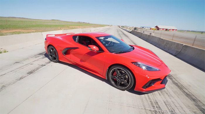 [VIDEO] Young C8 Corvette Owner Shows How He Gets 2.8 second 0-60 MPH Pulls