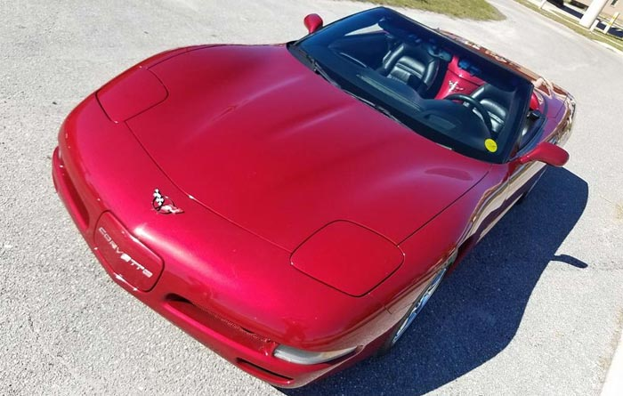 2004 Corvette Convertible in Magnetic Red II