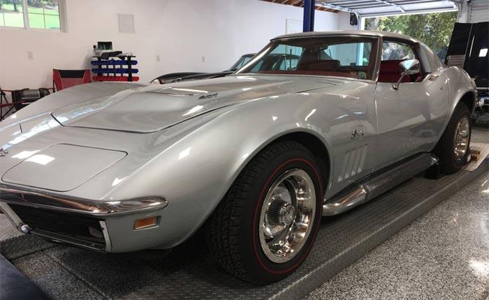 Corvettes on Craigslist: Original 1969 Corvette with 427/390 V8 Engine