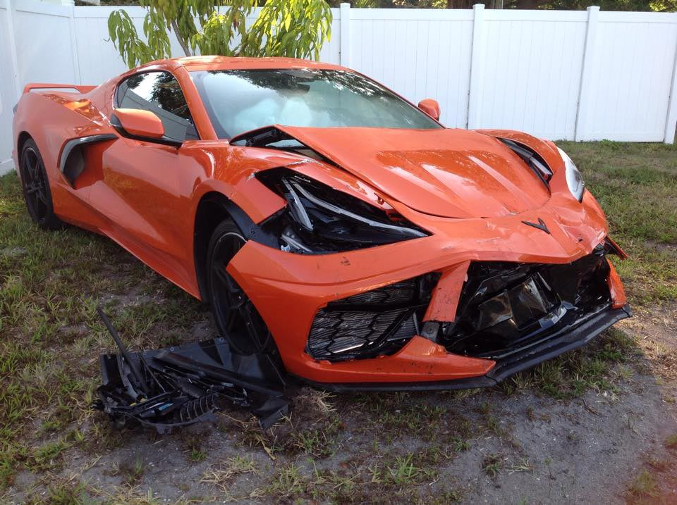 [ACCIDENT] 2020 Corvette Totaled the Day After Delivery