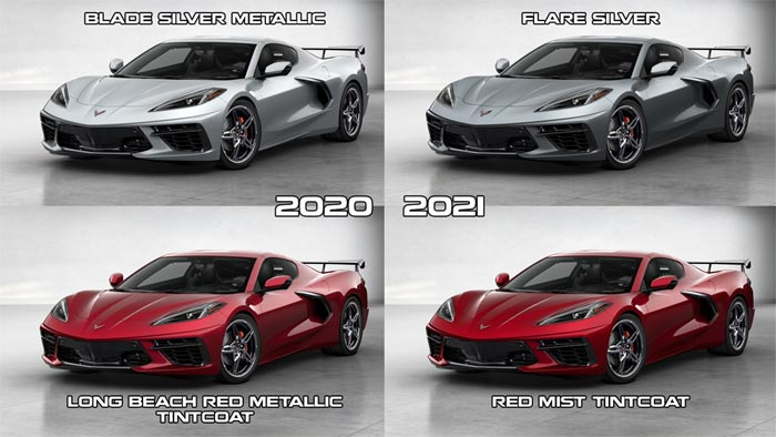 [PICS] Corvette Enthusiast Renders the 2021 Corvette Model Year Changes
