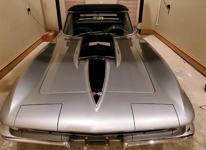 Corvettes on Craigslist: Restored 1967 Corvette with L71 427/435 Tri-Power V8 Engine