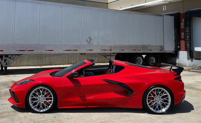 [PICS] 2020 Corvette Stingray on Anrky's AN10 SeriesONE Polished Wheels