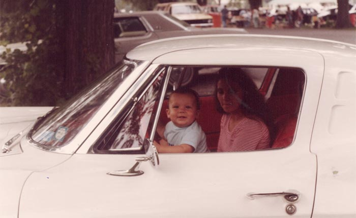 [PICS] Throwback Thursday: Keeping a Split-Window Corvette in the Family