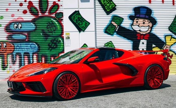 [PIC] Torch Red 2020 Corvette Stingray on Forgiato Cravatta-ECL Custom Wheels