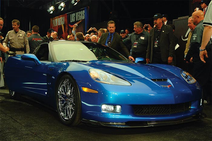 gm has raised more than  24 million for charity with its corvette and other auctions at barrett