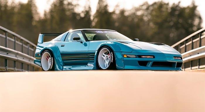 [PICS] Swedish-Built C4 Corvette Brings Back Memories of Miami Vice and Testarossas