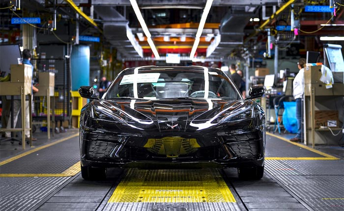 2020 Corvette on the Assembly Line
