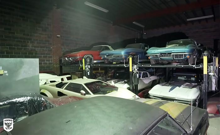 [VIDEO] Insane Car Collection Hiding Many Desirable Corvettes and More