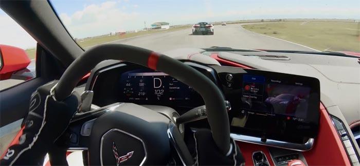 [VIDEO] 2020 Corvette Attacks Ferrari and McLaren on the Track
